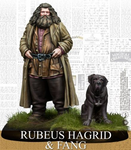 Harry Potter Miniatures Adventure Game - Rubeus Hagrid Expansion Pack